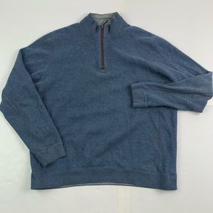 Tommy Bahama Reversible 1/4 Zip Sweater Mens Large